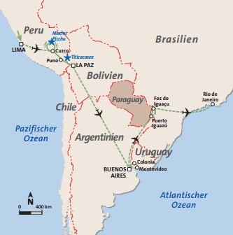 Südamerika - kompakt Rundreise