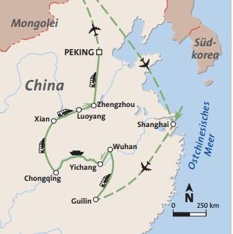 China - mit Yangste Kreuzfahrt